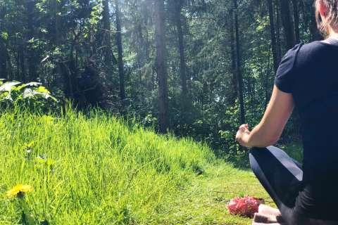Yoga-Wochenende an der Thülsfelder Talsperre / Hotel Heidegrund